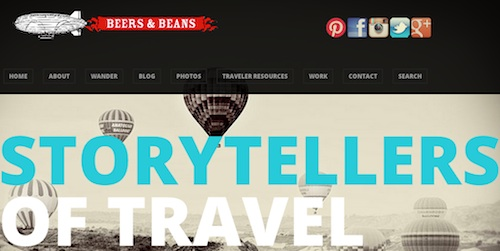 Cool travel blogs - go to Beers and Beans
