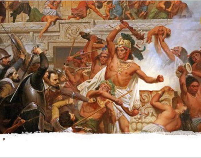 La visión de los aztecas ante la llegada de los castellanos