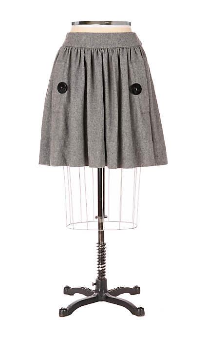 As a Button Skirt