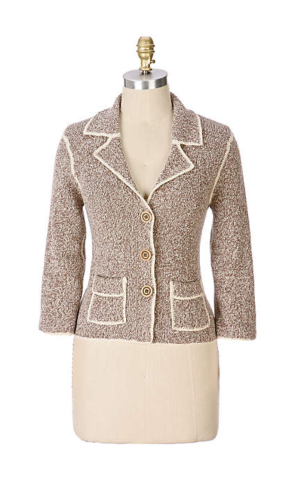 Anthropologie Professora Sweater Jacket (2006)
