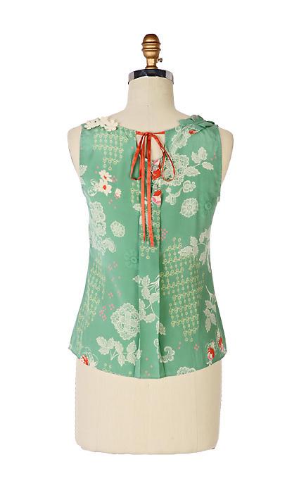 Anthropologie Buckminster's Reverie Tieback blouse (2008)