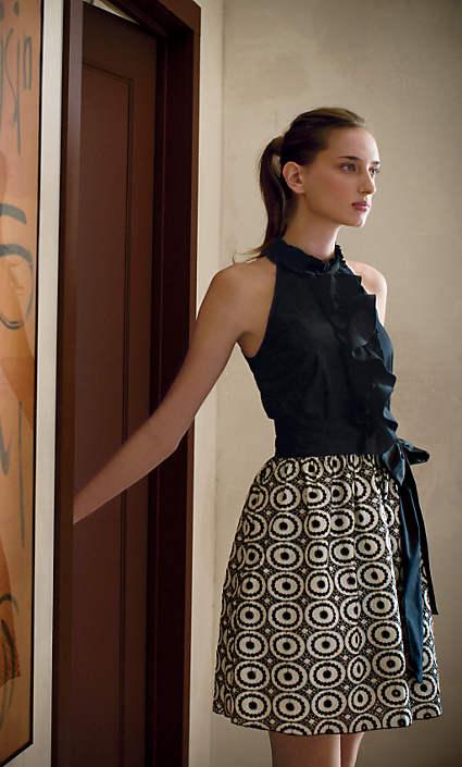 Anthropologie Evening's Promise Dress (2008)