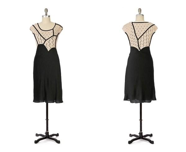 Anthropologie Stark Silhouette Dress 2008
