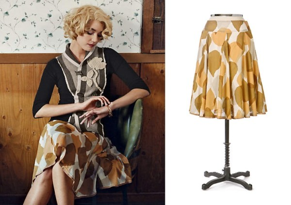 Anthropologie Tallow Blade Skirt by Odille (2007)