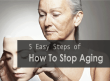 how to stop aging
