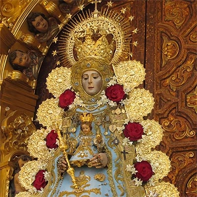Virgen del Rocío Media Luna