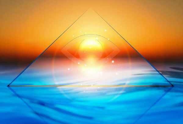 Realizo rituales con la pirámide