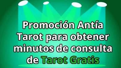 Promoción Antía Tarot para Tarot Gratis