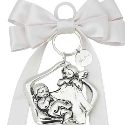 Medalla de cuna amuletos para bebé