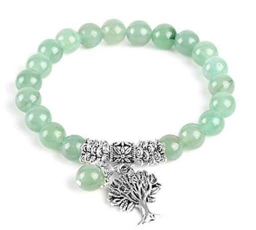 Amuleto para el dinero Jade Verde Pulsera
