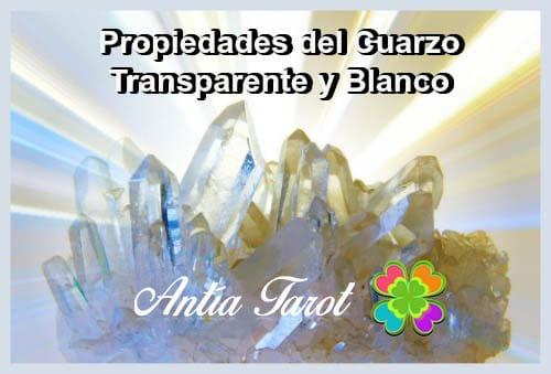 Propiedades del Cuarzo transparente o blanco