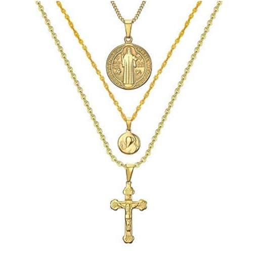Medalla de San Benito triple