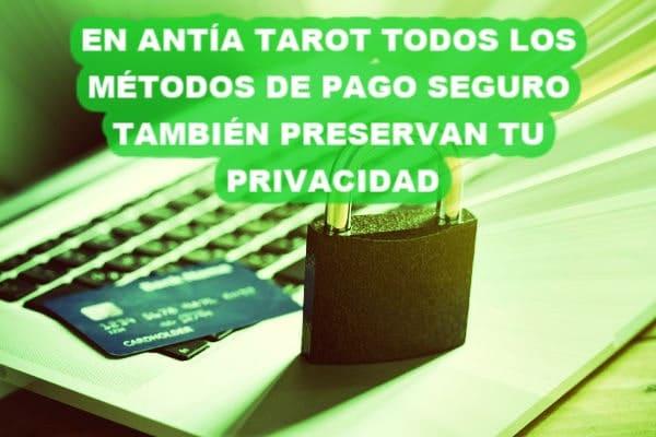Antia Tarot Seguridad y Privacidad