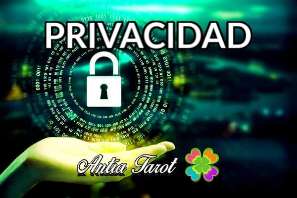 PRIVACIDAD ANTIA TAROT