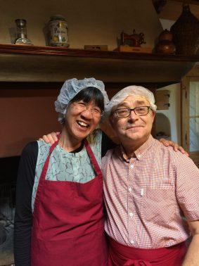 Debbie LeeKeenan and John Nimmo in Italy