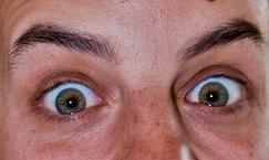 occhi sorpresi