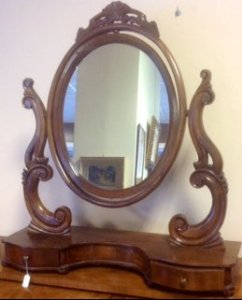Specchio basculante da toilet