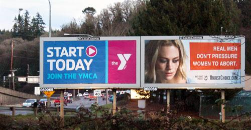 ACP Billboard displayed in Kitsap County, Washington in January 2016