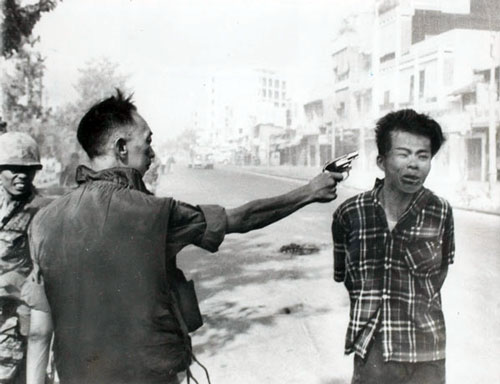 Around noon of February 1, 1968, in the opening days of the communist Tet Offensive, South Vietnamese General Nguyen Ngoc Loan executed a Viet Cong prisoner on the streets of Saigon.