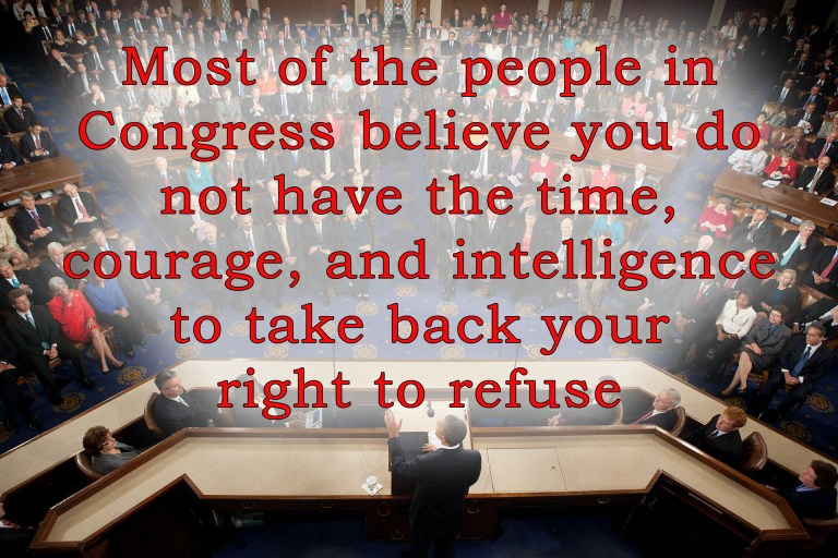 People on congress think of you