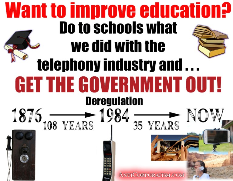 deregulate schools by AntiCorporatism