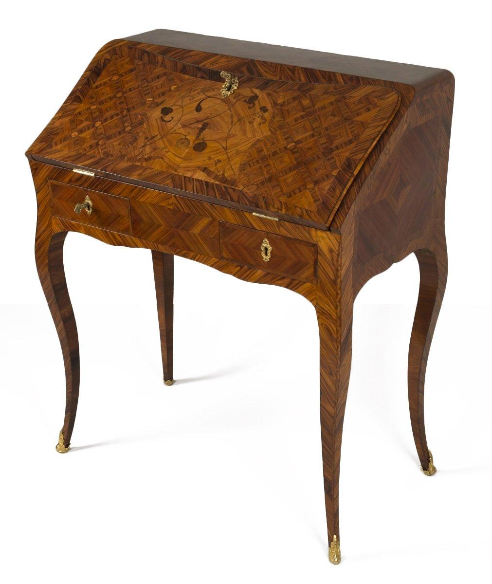 louis xv dos d 039 ane desk stamped i c saunier