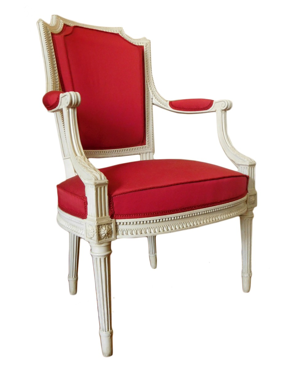 fauteuil cabriolet estampille henri