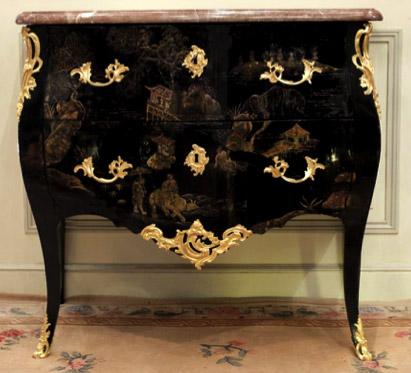 le mobilier en laque de chine au xviiie