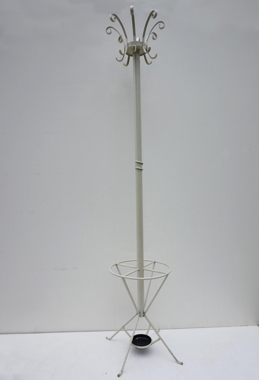 metal standing coat rack hallstand