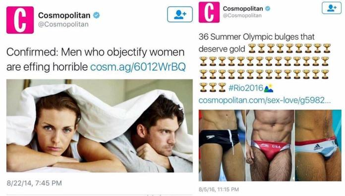 Sexist double standards at the Olympics