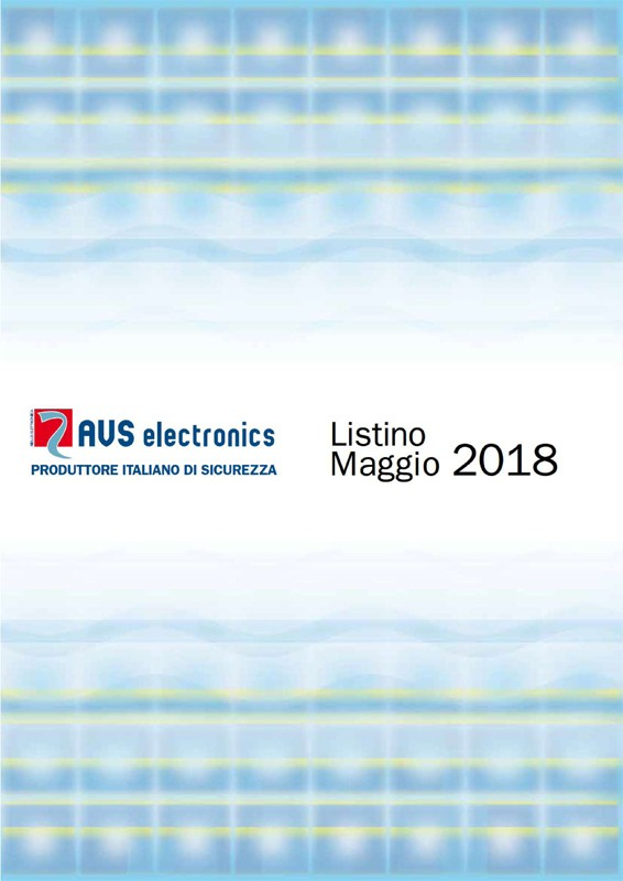 Catalogo AVS Electronics 2018