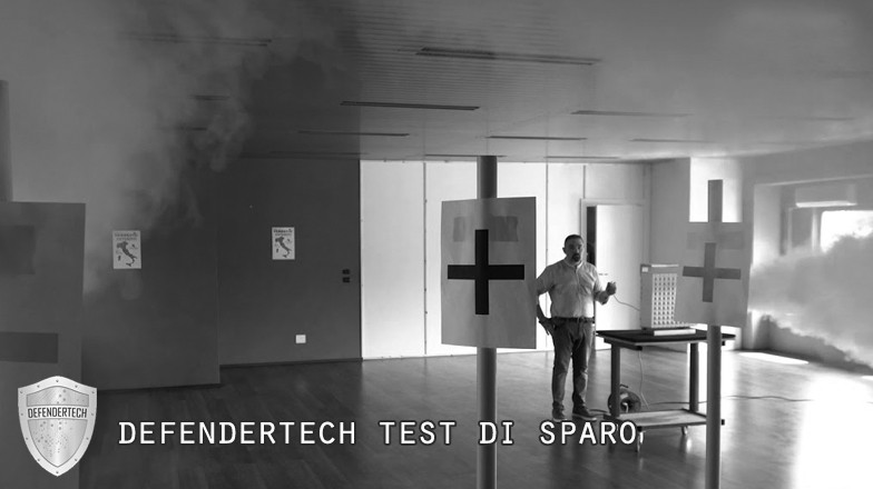 defendertech test di sparo