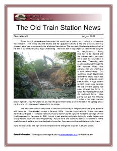 2009 08 newsletter
