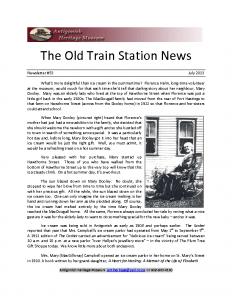 2013 07 newsletter