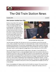 2014 07 newsletter