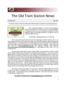 2015 05 Newsletter