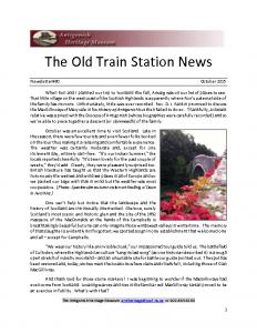 2015 10 Newsletter
