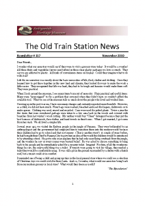 The Old Train Station News -117 November