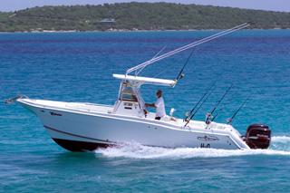 H2O Antigua Fishing Boat