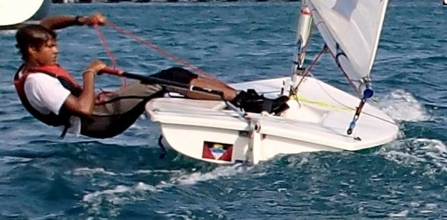 Young Antigua Sailors on the International Scene