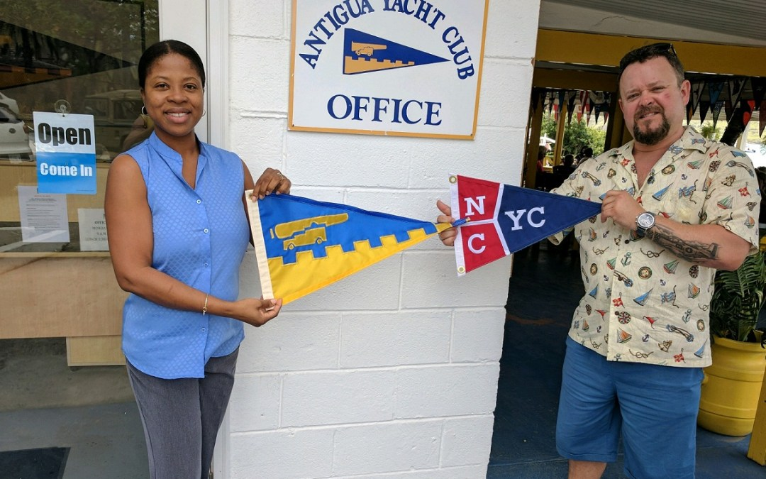Burgee Exchange with North Cape Yacht Club