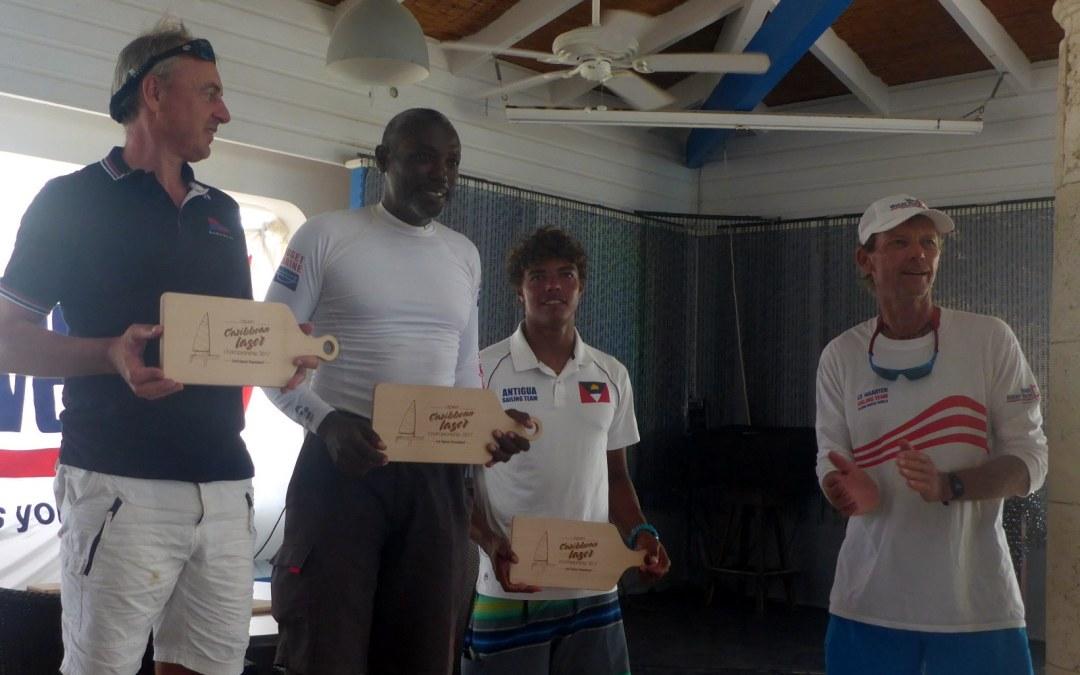 Karl & Jules excel at Caribbean Laser Championships in St. Martin
