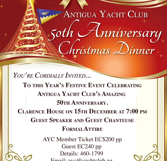 50th Anniversary Christmas Dinner!