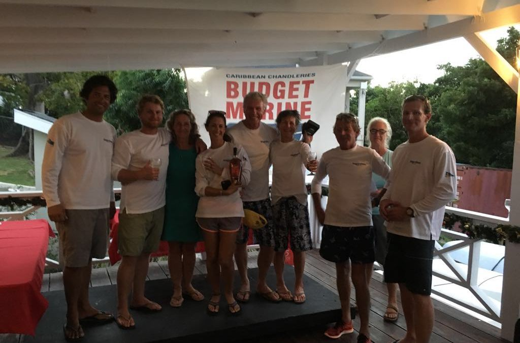 AYC Budget Marine Hightide Series Prize Giving 2017