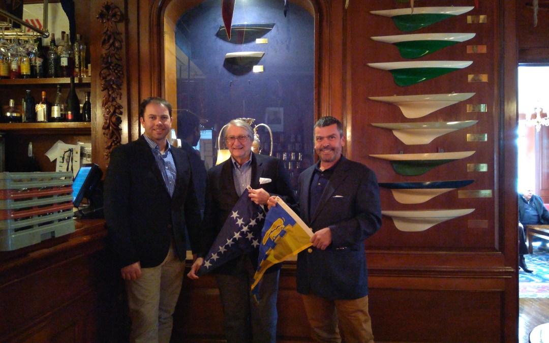 Burgee Exchange with Seawanhaka Corinthian Yacht Club