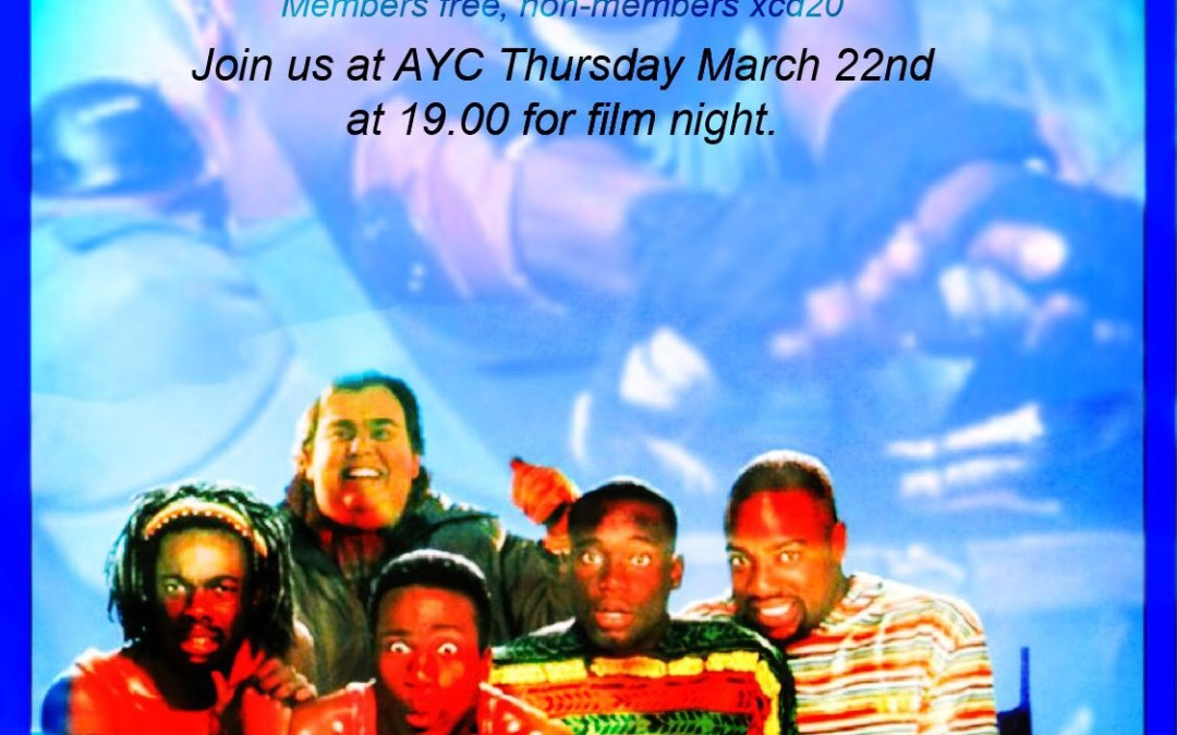 Film Night – Cool Runnings –  March 22