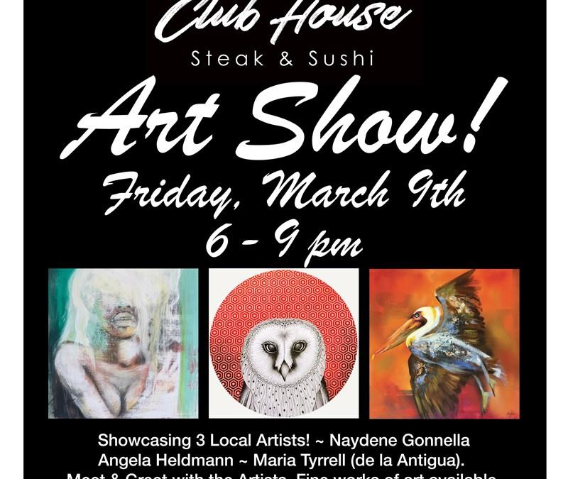 Art Show at Club House Restaurant