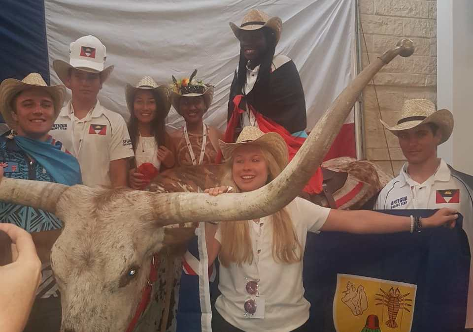 Antigua sends team to Youth World in Texas!