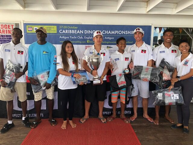 Antigua wins 2018 CSA Caribbean Dinghy Championships!