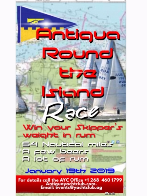 Notice Of Race – Round the Island Race – Saturday 19th January 2019